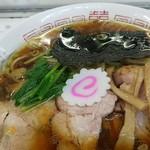 青島食堂 - 生姜が効いていますね