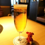 平城苑  - 生ビール 600円