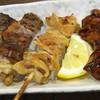 串かつ 神鷹 - 料理写真:スジ焼き、皮、きも
