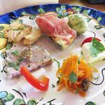 ピッツェリア グランデ - 今日は昼飲み♪シェフはソムリエでもあります。