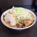 68286213 - 小ラーメン 麺少なめ野菜マシ