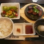 めんどくサガリ屋 - サガリ定食790円