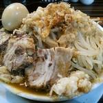 ラーメンつけ麺 笑福 - 【ラーメン 並盛 + 味玉】¥680 + ¥100