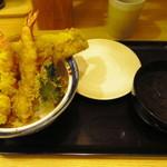 天丼はせ川 - 松(980円)
