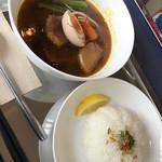 グルグルカリー - 料理写真:角煮カリー