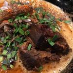 カラシビ味噌らー麺 鬼金棒 - 肉増しカラシビ味噌らー麺 カラさ増し シビれ鬼増し