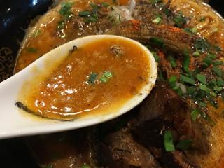 カラシビ味噌らー麺 鬼金棒 - カラシビ味噌らー麺 カラさ増し シビれ鬼増し