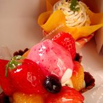 銀ぽあーる杉本 - ケーキ2種