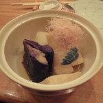 小石川 かとう - 本日の野菜の炊き合わせ