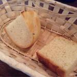 goffo - ローズマリーフォカッチャ、塩なしパン