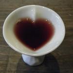 四季の蔵 食楽亭 - すっぽんスパイシーカレー(ブルーベリー黒酢ドリンク)