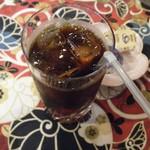 四季の蔵 食楽亭 - すっぽんスパイシーカレー(アイスコーヒー)
