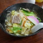 駅なか浜っ子産直市 - 料理写真:チャンポン