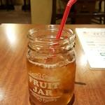 札幌スープカレー傾奇 - ランチセットのウーロン茶
