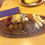 チャオ - 料理写真:私の食べたスペシャルスパ1180円+162円 ジャンキー過ぎです。(//∇//)チョイスミスです。