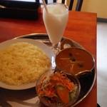 インド料理サッカール - マトンカレーセット880円
