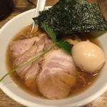新橋 纏 - 特製平子煮干そば(950円)