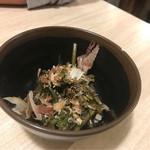 魚漁 - 花ワサビ醤油漬け