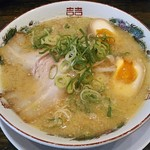 麺屋 絆 - 料理写真:【絆とんこつラーメン + 味付玉子】¥730 + ¥100