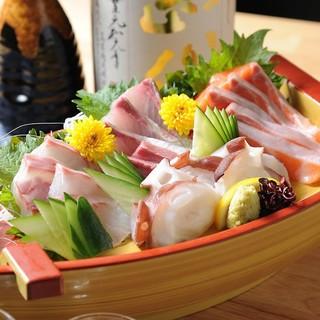 魚料理に関しては日替わりで一日一日オススメさせていただきます