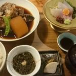 MORI-MESHI 小田原 - あら煮とお刺身のランチ