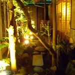 かみくら - 中庭