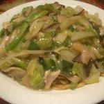 宵彌 - 鶏皿うどん/太麺:850円