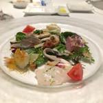 イルマーレ - (2017年6月)鮮魚のサラダ(^.^)