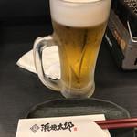 産直海鮮居酒家 浜焼太郎 - ドリンク写真:生ビール @420-