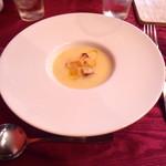 68301620 - ジャガイモのスープ。スープがネットリ?してます