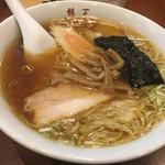 二代目 餅萬 - ワンタン麺 800円