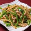 中華料理 水の音 - 料理写真:青椒肉絲炒め
