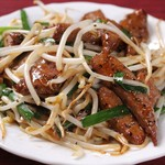 中華料理 水の音 - レバーニラ炒め