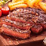 マジックレストラン&バーGIOIA 銀座 - 牛サーロインステーキ