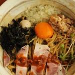 ラーメン 吟とん - 料理写真:まぜとん(850円)