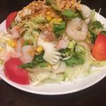 中華菜館 水蓮月 - 海鮮サラダ
