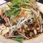 中華菜館 水蓮月 - 蒸しひな鳥のネギ醤油