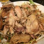 中華菜館 水蓮月 - 鶏肉はホロホロです。