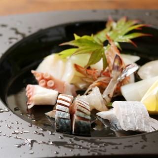 刺身地物魚