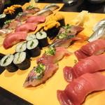 玄海鮨 - 握り食べ比べ