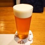 聖 - 生ビールは薄張りグラスが良い