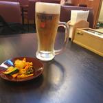 シバーダイニング - 生ビール