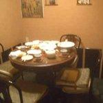 宵彌 - 4人丸テーブル席