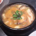 百済カルビ - 純豆腐チゲ