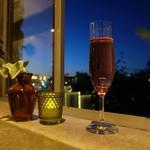 cafe&shop kaguya  - スパークリングワイン ロゼ