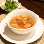 中国菜群青 - フカヒレスープ