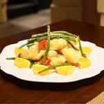 中国菜群青 - 海老の揚物