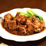 中国菜群青 - 東坡肉
