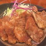 モンブラン - 豚ヒレ生姜焼き¥410