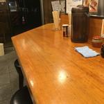 ぶらり - 店内カウンター席